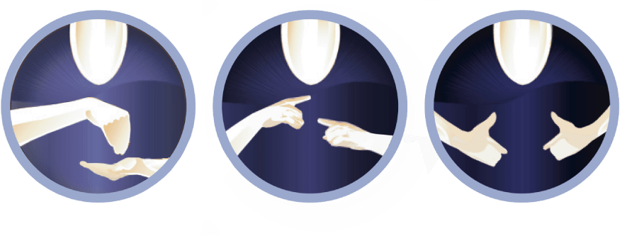 circle logos - sign language course